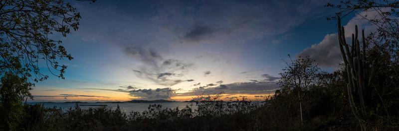 Sunset Lind Point Trail - St John, US Virgin Islands