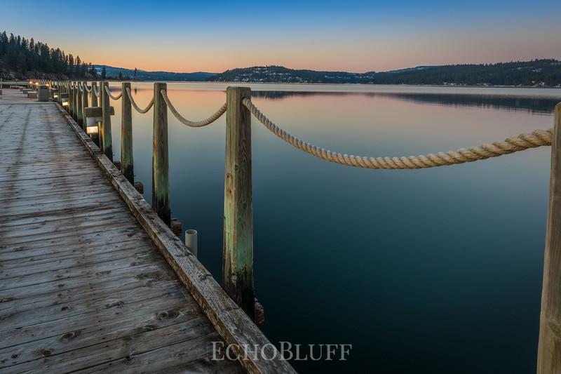 Daybreak on the Boardwalk