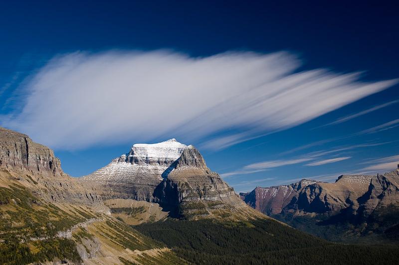 Cirrus Clouds, Glacier National Park