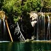 The Hanging Lake Waterfalls