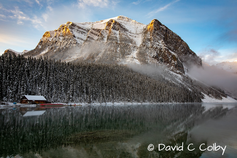 Early Morning on Lake Louise