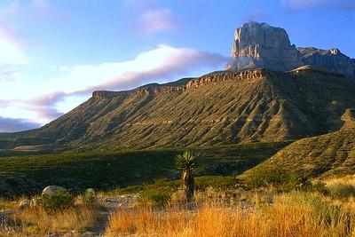 El Capitan near El Paso Texas