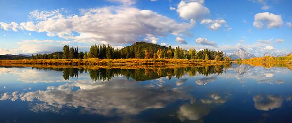 Signal Mountain, Oxbow Bend, Grand Teton National Park