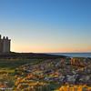 Ancient Castle of Portencross Seamill Scotland.