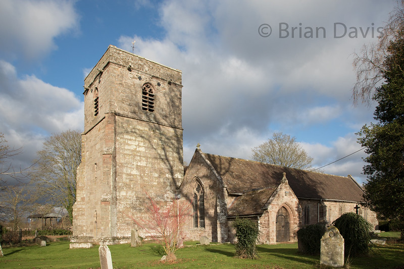 St Cuthberts Church, Holme Lacy