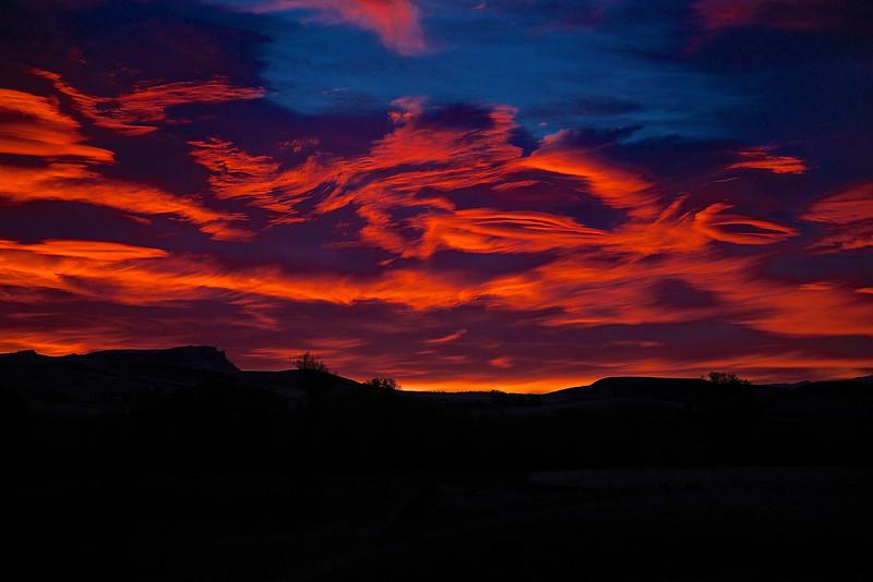 Sunrise #3.  Livingston, Montana