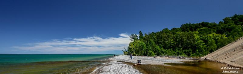 Lake Superior Shoreline from Burt TWP, MI