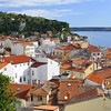 View of Piran, Slovenia on the Adriatic Sea