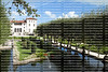 Visitors tour the grounds and the mansion at the Vizcaya Museum and Gardens a renaissance-style villa and gardens.