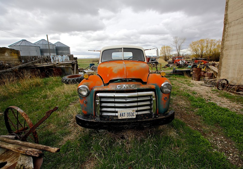 Old GMC. Two Dot, Montana #2