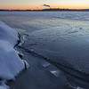 Frozen Lake Pyhäjärvi