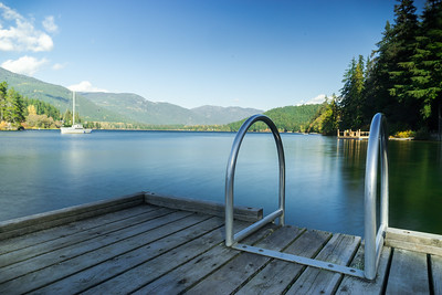 Alta Lake, near Whistler, British Columbia