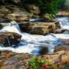 Pollard Mills Falls Fall Color 1