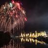 Caernarfon Castle Fireworks 2