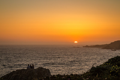 Ocean Cove sunset