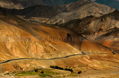 A24:The Road from Srinagar to Leh through the beautiful mountains of Ladakh ( National Highway 1D)