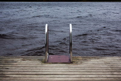 Into the water. Imatra, Finland, 2015.