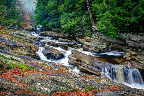 Pollard Mills Falls Fall colors 2