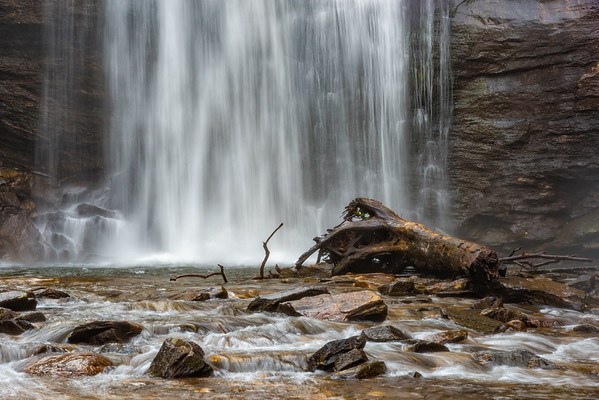 Looking Glass Falls - Pisgah National Forest - NC-18