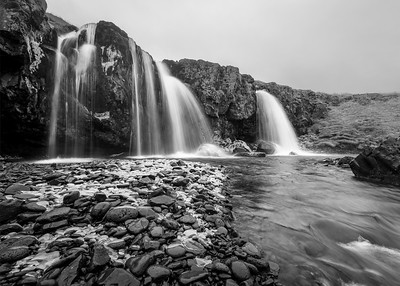 Freezing Falls of Kirkjufellfoss
