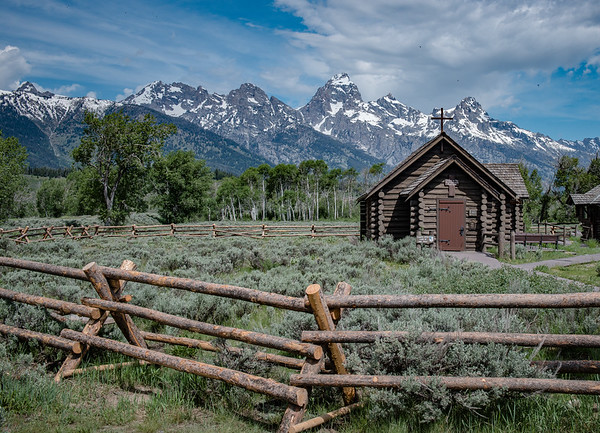 Chapel of the Transfiguration, Grand Tetons