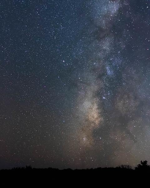 Milky way over Hatteras<br /> Location: Dare county, NC