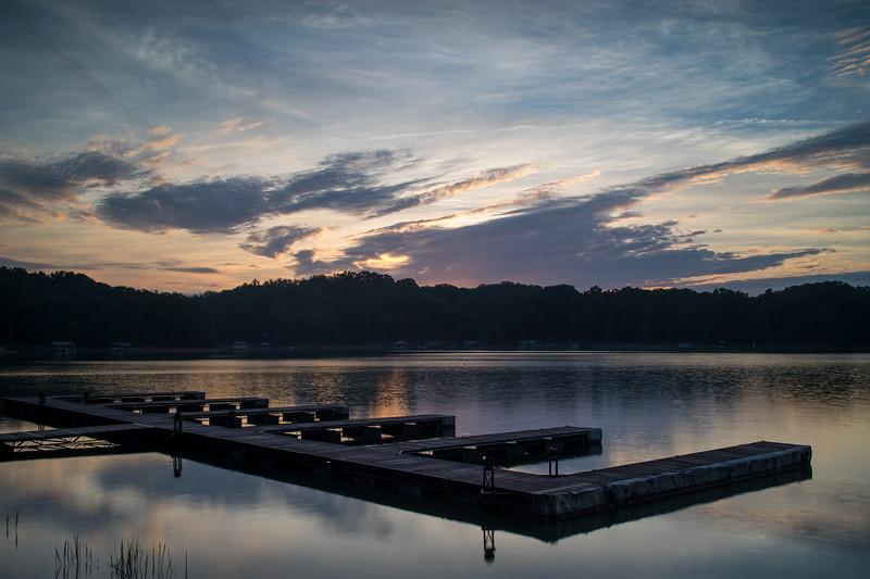 Sunrise on Lanier