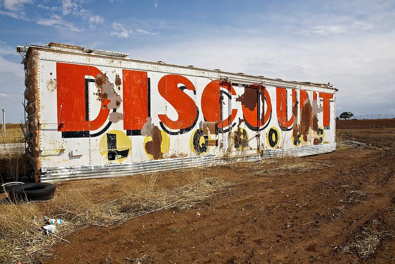 Liquor Trailer.  Odessa, Texas