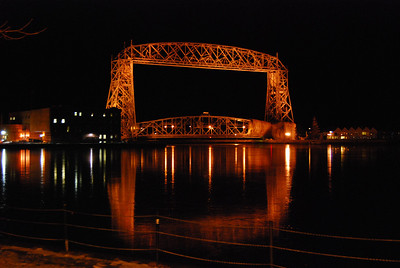 Lift bridge in Duluth