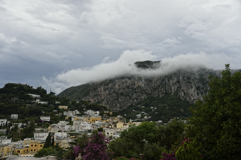Capri in the Rain
