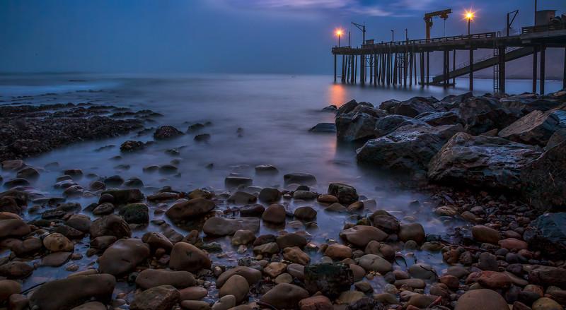 Point Arena Pier Evening