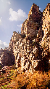 Cliff Face Eldorado Canyon