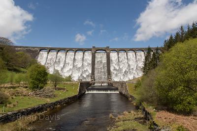 Claerwen Dam (Spring)