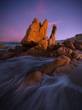 Playa Las Viudas en B.C.S.