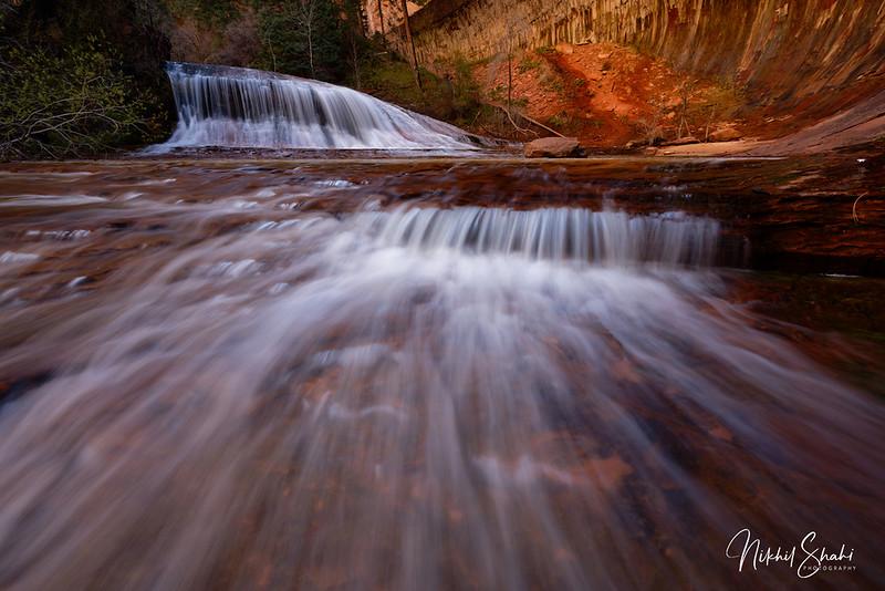 Alcove Fall, The Subway, Zion National Park, Utah