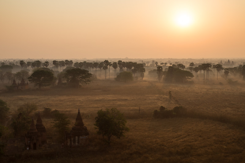 Another sunrise in Bagan
