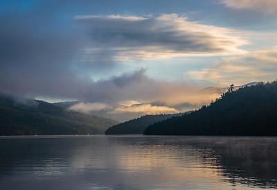 Sunrise Over Lake Placid