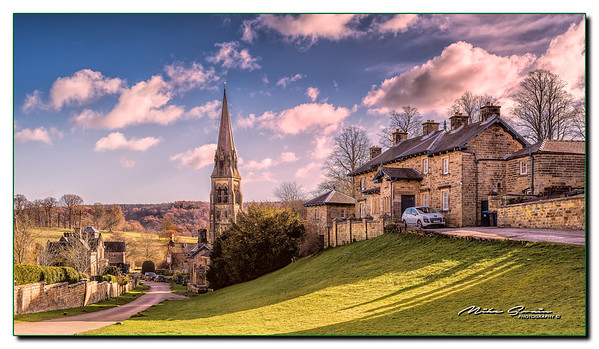 EDENSOR VILLAGE ON THE CHATSWORTH HOUSE ESTATE