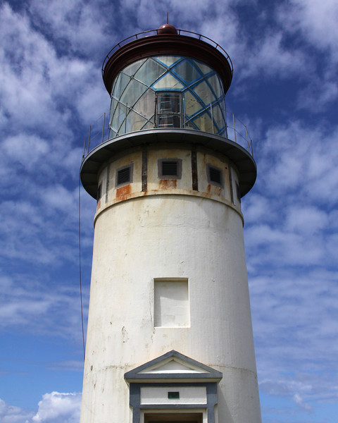 Lighthouse, Kilauea Nature Preserve, Kauai Hawaii.  September 2011