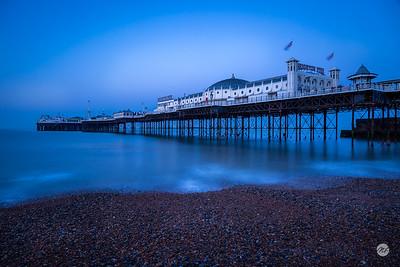 5:45am on Brighton beach
