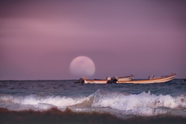 Full Moon Over XpuHa- Mexico