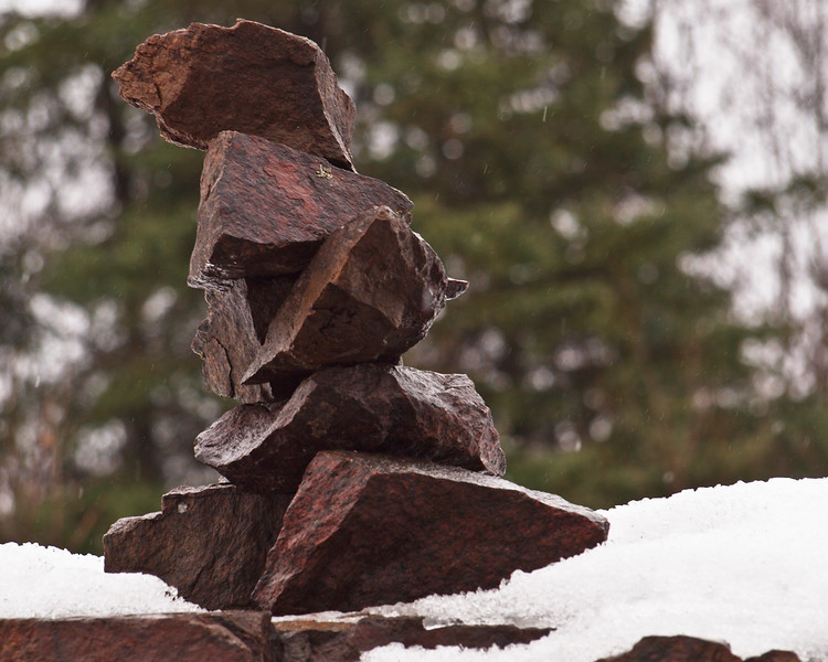 Another Inukchuk that I thought was so cool. This friend stood on Hwy 69 between Parry Sound and Sudbury (To give all our non Canadian friends a perspective, Shania Twain hails from Sudbury).<br /> <br /> Sorry Ed, no shots of Shania, but I did see a photo of her in a friend's yearbook!!!