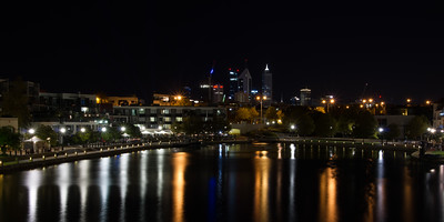 East Perth at Night