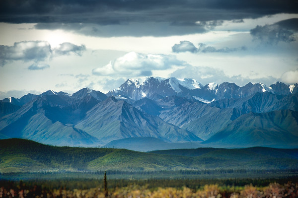 The Alaskan Range - Alaska