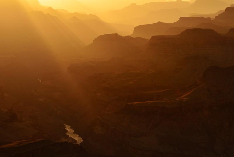 Rays of Light, Grand Canyon National Park, AZ