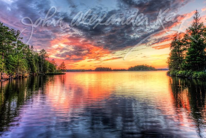 Peaceful Sunset - Voyageurs National Park