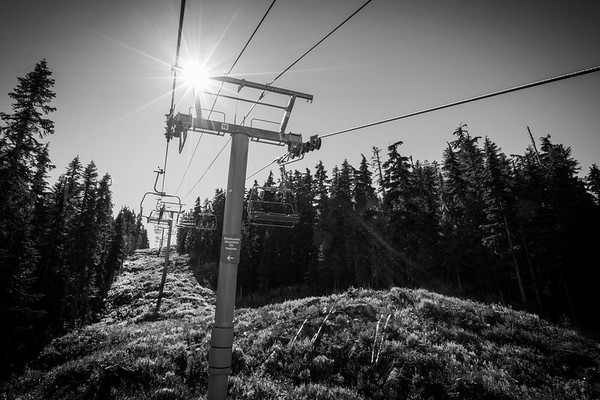 Garbonzo Chairlift, Whistler Mountain, British Columbia