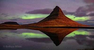 Aurora Behind Kirkjufell