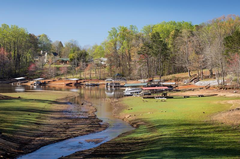 Latham Creek, Lake Lanier