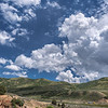 Big sky near Park City, Utah